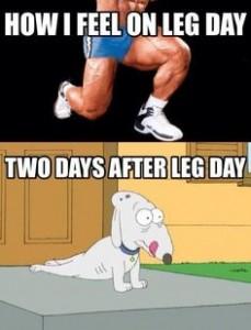 benen trainen