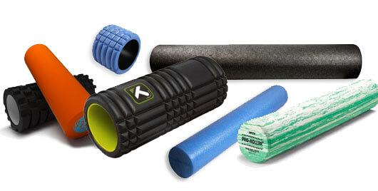 foam rollers verschillende vormen