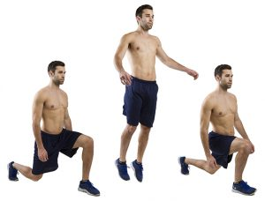 jump lunges foto