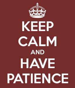 kalm en geduld foto