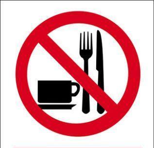 niets eten en drinken vasten