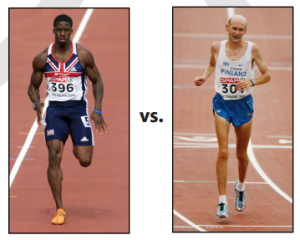 sprinter vs marathon