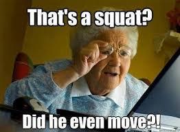 exécution squat