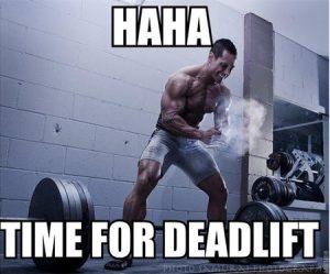time for deadlift foto