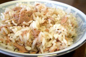tonijn met rijst